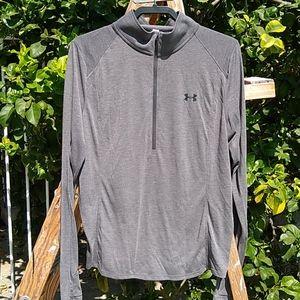 UnderArmour 1/2 Zip Shirt Heat Gear/Threadborne XL